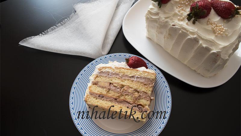 yemek: pandispanya yaş pasta kreması [33]