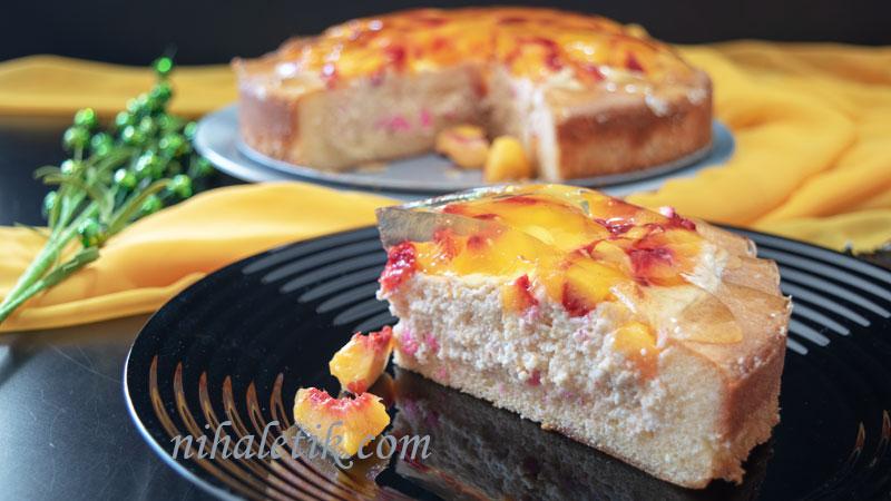 Şeftalili Sürpriz Pasta